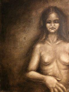 Blind III  Oil on canvas  © Patricia Benitez