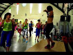 Zumba Fitness con Dafnee de Frias es lo máximo