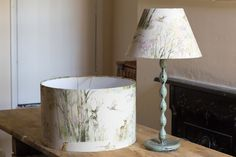 A handmade cottage: How to make your own lampshade