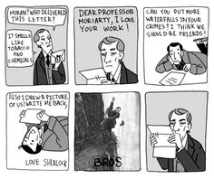 Ghost Bees & Consulting Detectives. - i LOVE this artist. LOVE them... http://ghostbees.tumblr.com/post/15880425722