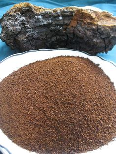 Chaga Mushroom Powder, teabags for sale $8.99 www.blackseedbuffet.com