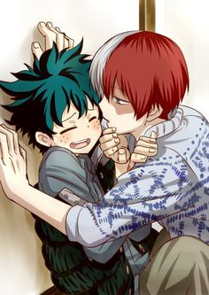 Read Todoroki x Midoriya 1 from the story Puro yaoi by with reads. -Anime: Boku no Hero Academia -Nombre de. Yuri Manga, Bakugou Manga, My Hero Academia Shouto, Hero Academia Characters, Cute Gay, Anime Love, Anime Guys, Cool Animes, Deidara Wallpaper