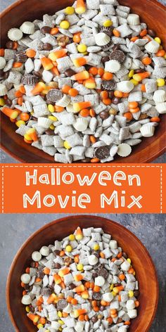 Halloween Movie Mix – A Simple Candy Mix For Your Perfect Movie Night! Mixtures are always a delight!!! A very easy way of missing different candies to make a great candy mixture. Every Halloween, me and my friends would see a good scary movie and enjoy the night with Halloween themed cookies and other delicacies. Now, lets go ahead and make the most delicious Halloween Movie Mix!!!!!!
