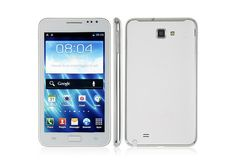 N7077 MTK6577 Android 4.0 dual core 5.2 inch 1.0Ghz 5.0MP dual camera TV GPS WIFI 3G smartphone(white)