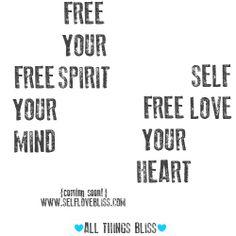 #freespirt #freemind #freeheart #freelove #selflove #spirit #soulshine #heart #mind #selflovebliss #allthingsbliss #inspire #inspiration #love #bliss https://www.facebook.com/allthingsbliss