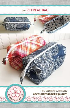 The Retreat Bag - A Free Sewing Tutorial