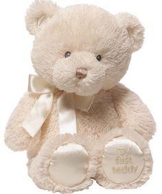 NWT Gund Cuddly Cubs Corey Baby Bear