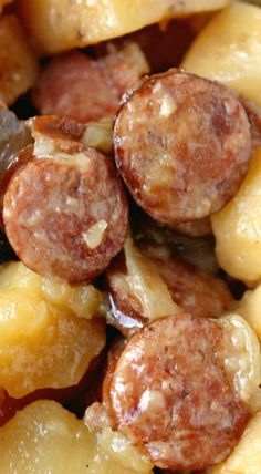 Crockpot Sausage & Potatoes More