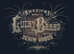Lucky Brand designs by Michael Hinkle