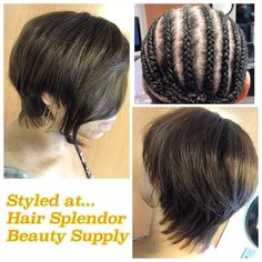 Full Sewin Before After Hair, Beauty Supply, Extensions, Wigs, Hair Beauty, Style, Swag, Hair Extensions, Lace Front Wigs