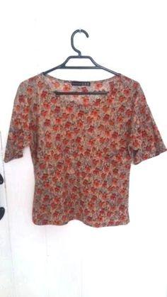 Ex Per Una Metallic Layered Tunic Top in Rose Gold Size 6 14