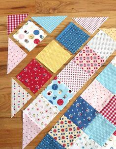 Baby Quilt Tutorials, Quilting Tutorials, Quilting Designs, Embroidery Designs, Quilting Ideas, Patch Quilt, Rag Quilt, Quilt Blocks, Quilt Sets