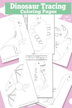 Tracing Coloring Pages - Free Printable Free Printable Dinosaur Tracing Coloring PagesRay tracing Ray tracing is a method for calculating the path of waves or particles through a system. The method is practiced in two distinct forms: Dinosaur Theme Preschool, Dinosaur Printables, Dinosaur Activities, Dinosaur Art, Free Preschool, Free Printables, Dinosaur Crafts Kids, Preschool Crafts, Dinosaur Coloring Pages