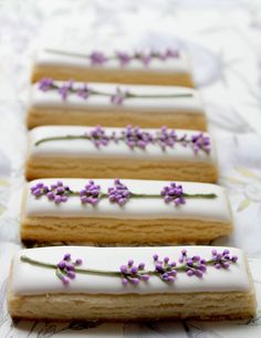 DIY Lavender Cookies... and the whole site is full of great ideas!! the camera strap is great!!
