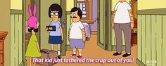 reaction bobs burgers tina belcher minebobsburgers animated GIF