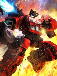 Autobot Inferno Artwork From Transformers Legends Game