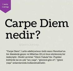 Carpe Diem Carpe Diem, Best Love Messages, Rare Words, Interesting Information, Film Books, Meaningful Words, Better Life, True Quotes, Cool Words