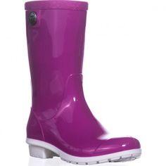 UGG Australia Sienna Mid-Calf Rain Boots, Neon Pink    #rain #rainboots #neon #pink #midcalf #ugg #uggaustralia #shoes #shopping #style #trending #fashion #womensfashion #spring #springstyle #springfashion Spring Step, Trending Fashion, Ugg Australia, Rubber Rain Boots, Uggs, Spring Fashion, Neon, Womens Fashion, Pink
