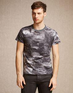 Boyton T-Shirt - Dark Grey Cotton Shirts and Tops