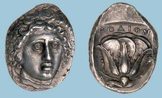 G764 An Excessively Rare and Magnificent Greek Silver Tetradrachm of Rhodes (Islands off Caria), Among the Finest Recorded Tetradrachms of this Prolific Mint | Flickr: Intercambio de fotos