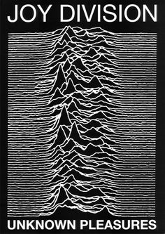 Joy Division punk Poster Unknown Pleasures Ian Curtis poster