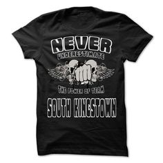 NEVER UNDERESTIMATE THE POWER OF South Kingstown - Awes - #long hoodie #sweatshirt quilt. PRICE CUT => https://www.sunfrog.com/LifeStyle/NEVER-UNDERESTIMATE-THE-POWER-OF-South-Kingstown--Awesome-Team-Shirt-.html?68278