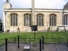 Tower green - the scaffold site