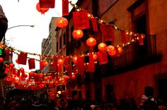 Unlike New Year's Eve celebrations around the world, Chinese New Year usually includes a more spiritual theme coupled with amazing firework displays and parades. Description from traveltohongkong.info. I searched for this on bing.com/images