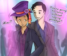 Missing Moment Malec week 2017: World Inverted the Mad Hatter Party ... From the hands off umkasandiary ... shadowhunters, alexander 'alec' lightwood, magnus bane, the mortal instruments, malec, world inverted
