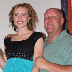 Smiles all around with Dr. Oehler and his beautiful daughter, Rachel. Homecoming 2013!