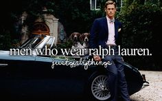 men who wear ralph lauren