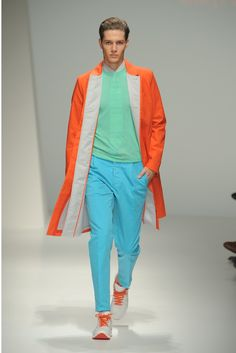 Salvatore Ferragamo Men's RTW Spring 2013 http://www.wwd.com/runway/mens-spring-collections-2013/review/salvatore-ferragamo/slideshow/5987369