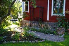 Rabatt intill husvägg – Allt om Trädgård