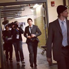 James Neal wow looking spiffy james