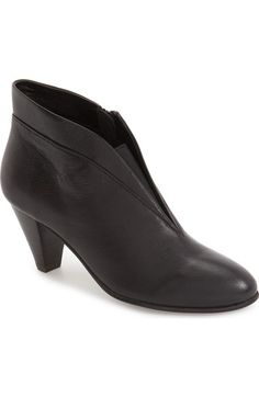 David Tate 'Natalie' V-Cut Zip Bootie (Women) available at #Nordstrom