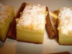 Prajitura inteligenta (Intelligent cake) by Teo Romanian Food, Delish, Cheesecake, Deserts, Food Porn, Pastries, Cakes, Cream, Creme Caramel
