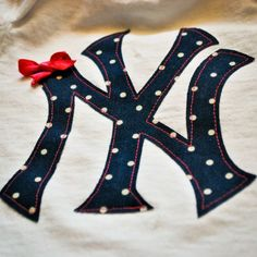 NY Yankees Onesie made with Silhouette machine