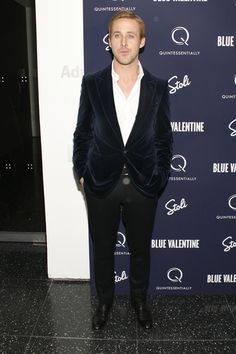 Celebs at the Blue Valentine premiere