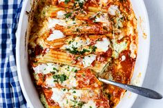 No cooking the manicotti, so that's the easy part. Sometimes I will add some frozen chopped spinach, cooked and squeezed dry. A real easy meal! Easy Manicotti Recipe, Baked Manicotti, Manicotti Pasta, Casserole Recipes, Pasta Recipes, Cooking Recipes, Healthy Recipes, Drink Recipes, Vegetarian Recipes