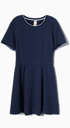 Blue dress!