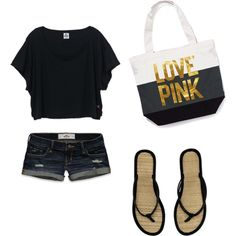 Cute Beach Outfit totaly going to try to find that