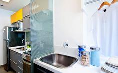 Móveis dividem espaço em apartamento com ambientes integrados - Arquitetura - iG