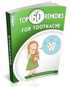 How to stop a toothache from a broken tooth naturally?