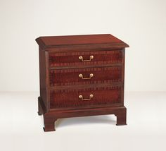 26002 // Decca // Traditional Collection // Side Table with Drawers
