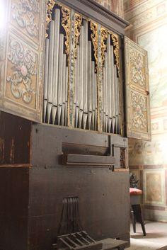 Florence, Ognissanti, orgue de choeur #TuscanyAgriturismoGiratola