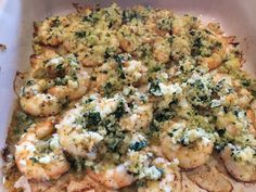 Lex's Life as a New Wife: Cilantro Lime Baked Shrimp