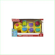 Fisher Price Caterpillar Pop-Up Toy - Green Ant Toys www.greenanttoys.com.au      New #kidstoys #babytoys http://www.greenanttoys.com.au/shop-online/baby-toddler-toys/caterpillar-pop-up/