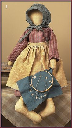 I love old country dolls.