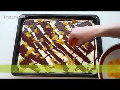Tvarohový koláč s ovocem - YouTube