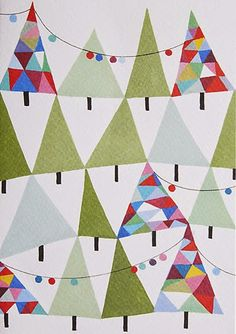 print & pattern: XMAS 2015 - john lewis. Inspiration for colour and pattern.